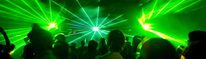Lasershow von mobile-disco.at