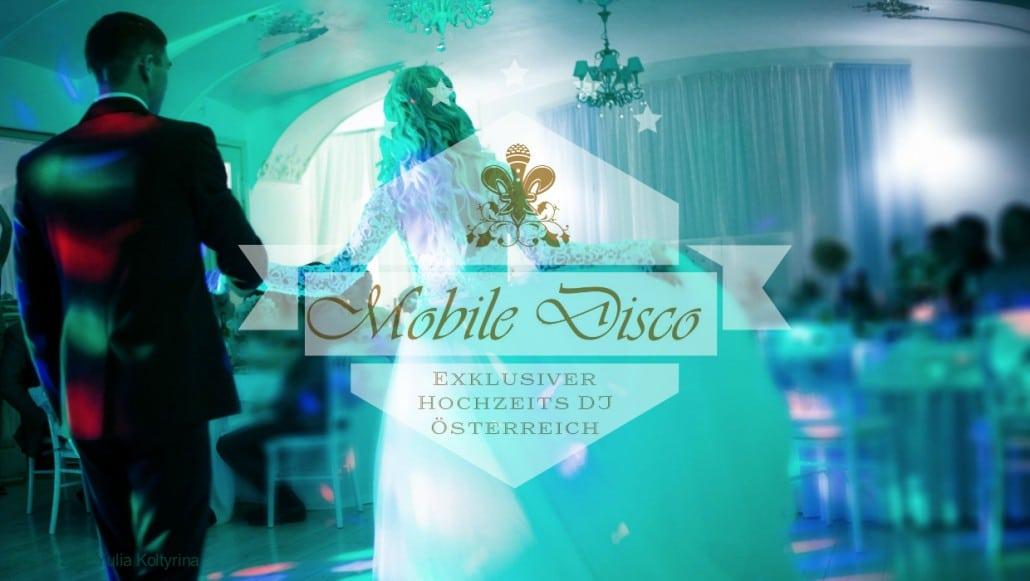 Exklusiver Hochzeits DJ in Österreich - mobile-disco.at DJ Soundmaster