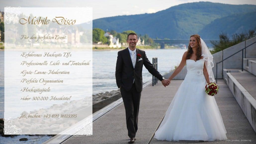 Hochzeitsmusik für Ihre Trauung in Niederösterreich