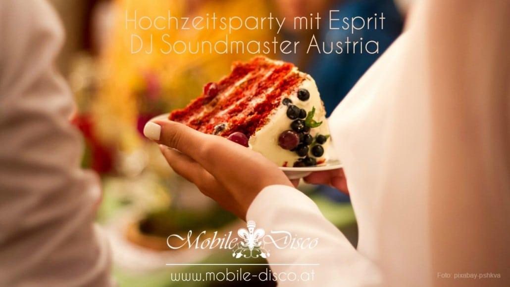 Hochzeitsparty in Wien mit DJ Soundmaster Austria