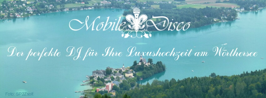 mobile disco DJ Soundmaster am Wörthersee