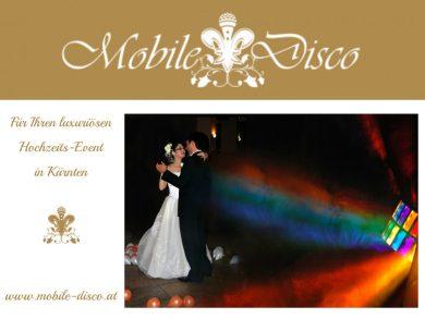 mobile disco - hochzeits DJ in Kaernten